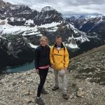 June 2017 on Wiwaxy Gap Trail in Yoho National Park, British Columbia